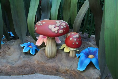 Laughing Place Lotion: Pixie Hollow Now Open at Disneyland Park